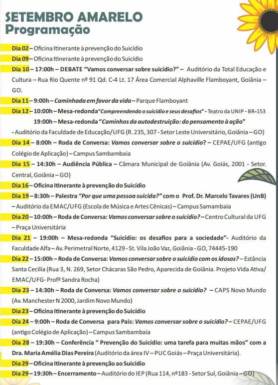 SETEMBRO AMARELO 2