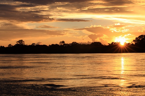 araguaia por do sol 5. silvio quirino. goias turismo