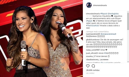 simone e simaria no the voice