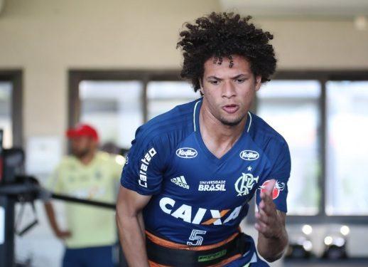Recuperado, Willian Arão Deve Reforçar O Flamengo Na Final