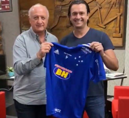 Sem o tradicional bigode, Felipão é anunciado como técnico do Cruzeiro |  Diário de Goiás