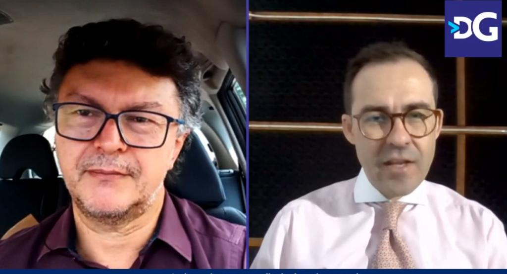 O presidente da OAB-GO, Lúcio Flávio de Paiva, fez um balanço administrativo de sua gestão em entrevista ao jornalista Altair Tavares